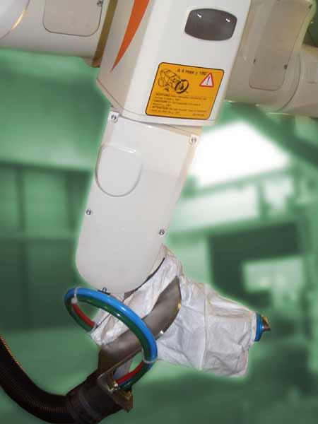 <strong>Werkzeugschutz</strong> für Sprimag Spritzapparat, Tyvek