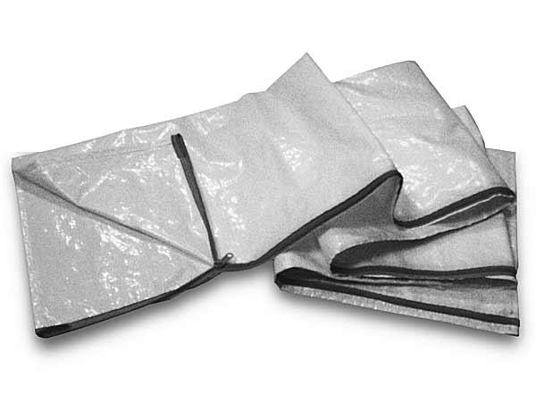 Schlauchschutzhülle mit Reißverschluss, Schutz vor flüssigem Medium, Bündeln der Schlauchpakete