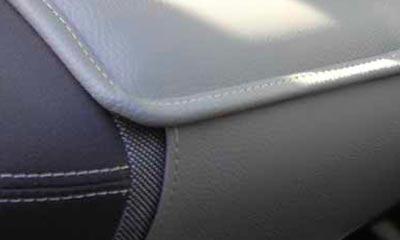 <strong>Sitzauflage</strong> für Lieferfahrzeuge, Abdeckung des Sitzes über die Sitzfläche hinaus nach vorne und hinten